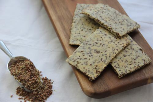 amandelmeel lijnzaad crackers
