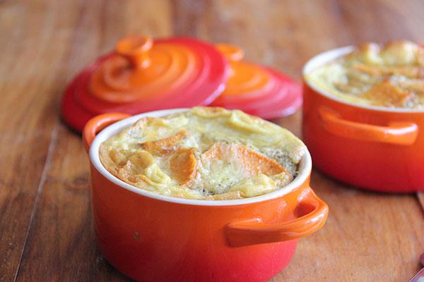 frittata zoete aardappel en gehakt