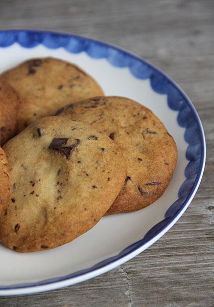 chocolate chip koekjes spelt