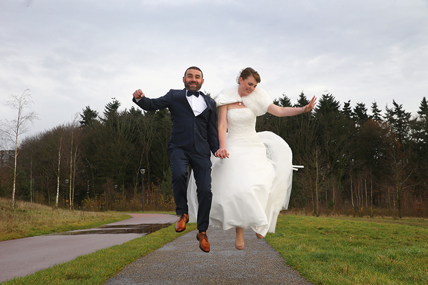 bruiloft hamdi en simone