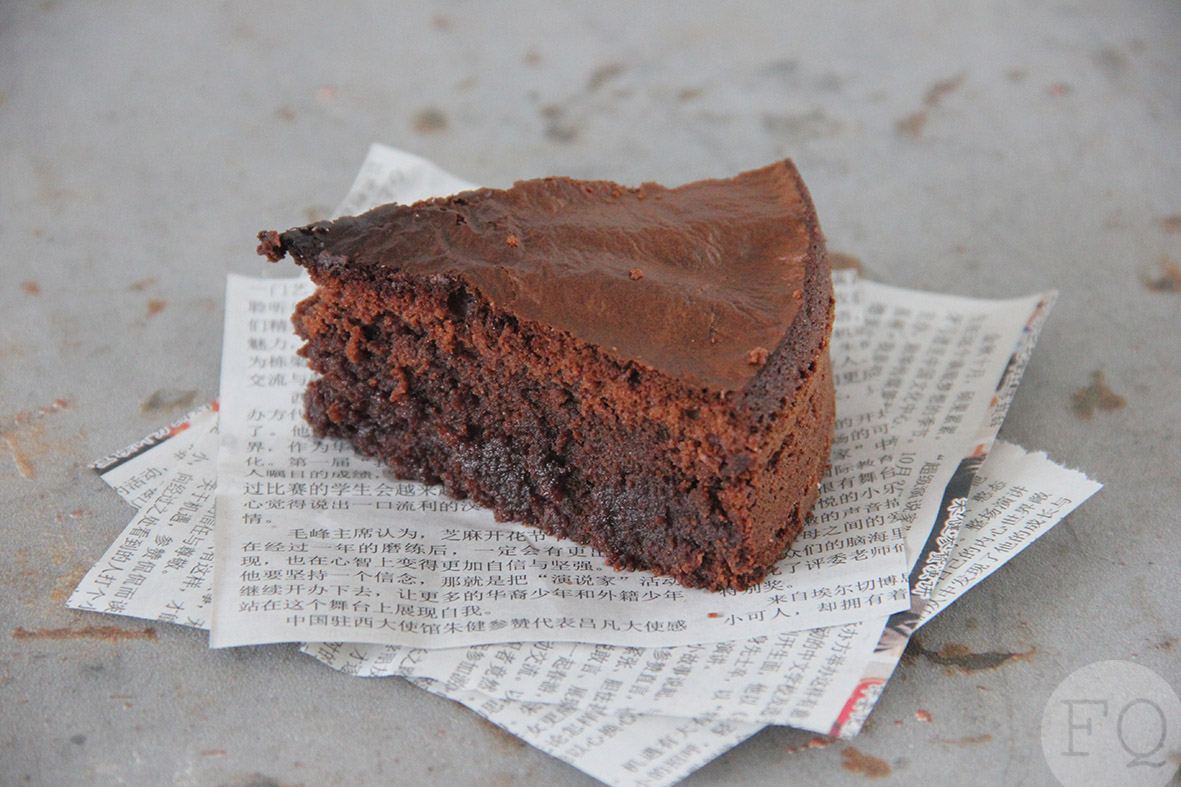 Nutella brownie cake Airfryer