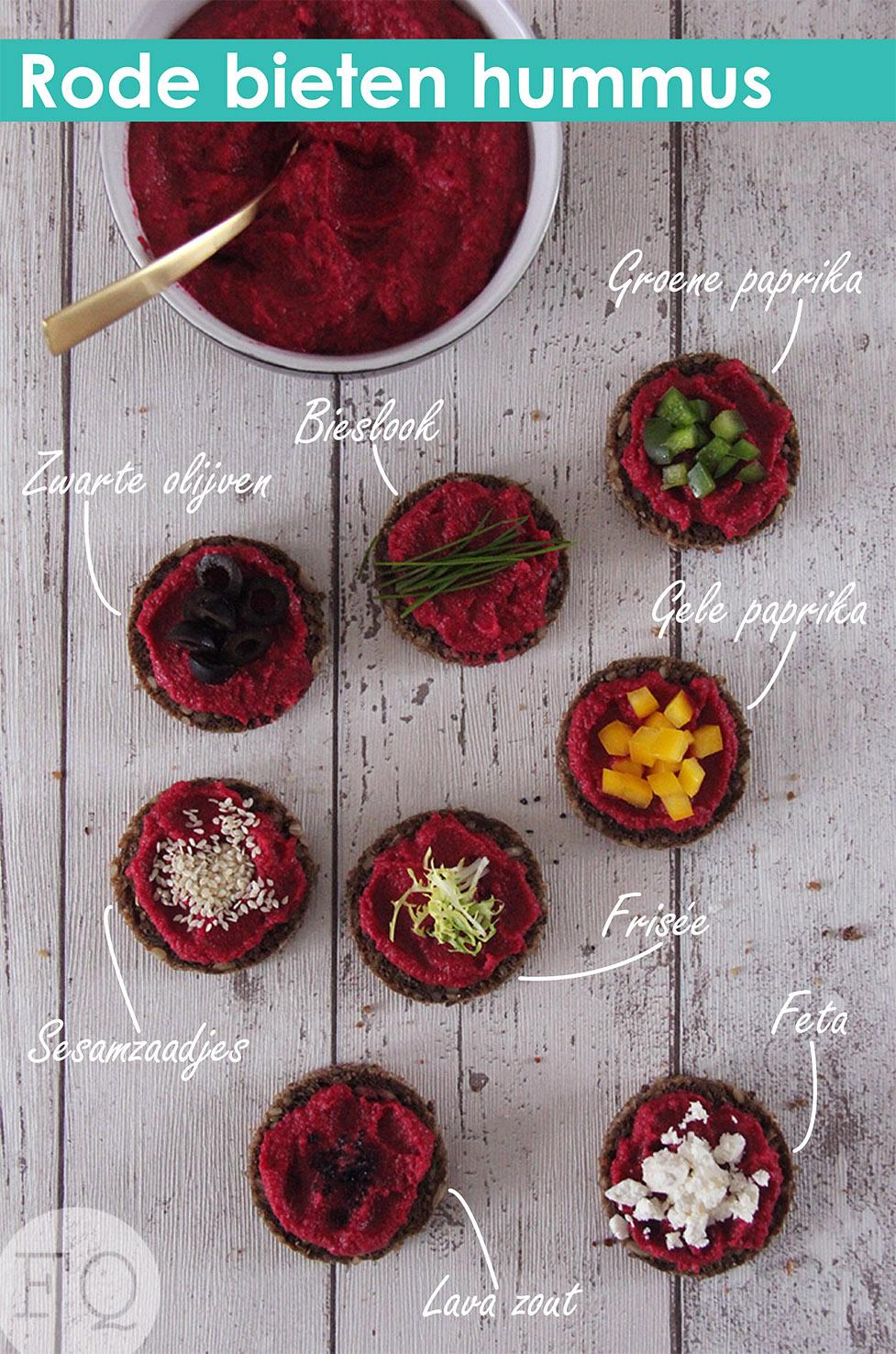 rode bieten hummus