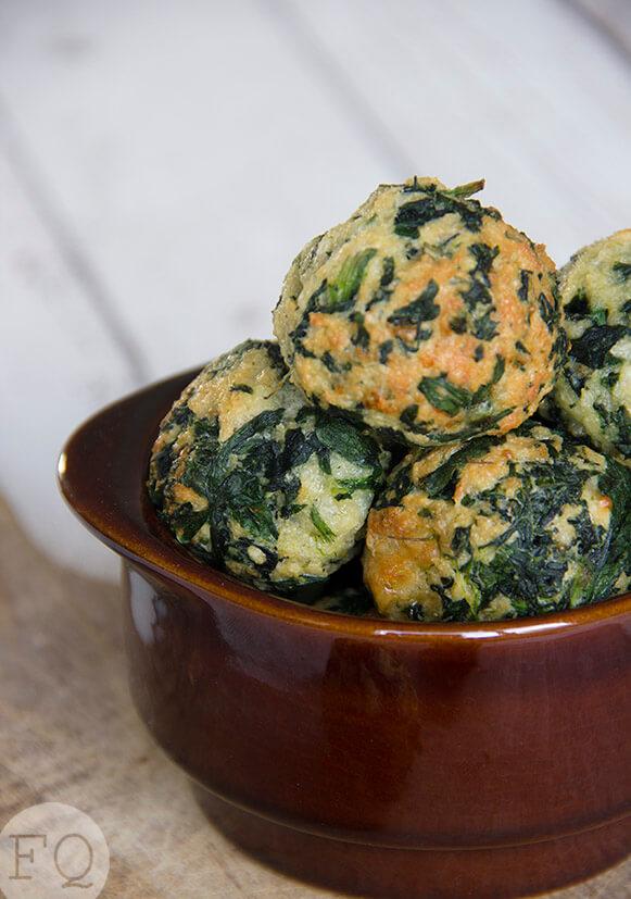 spinazie-kaasballetjes
