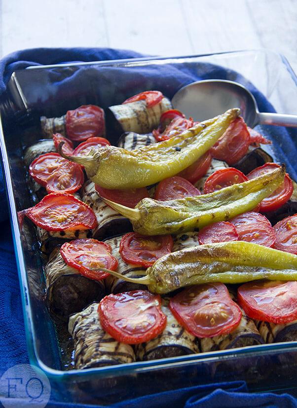turkse ovenschotel aubergine-köfte