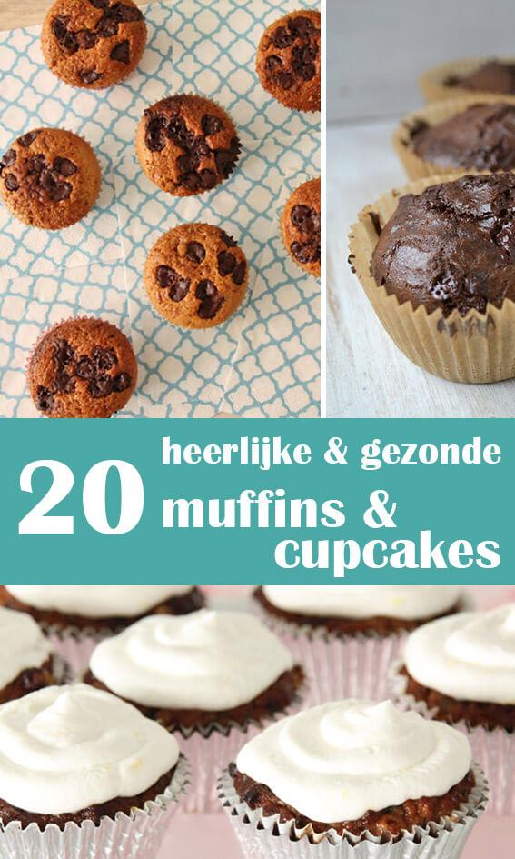20 muffins en cupcakes