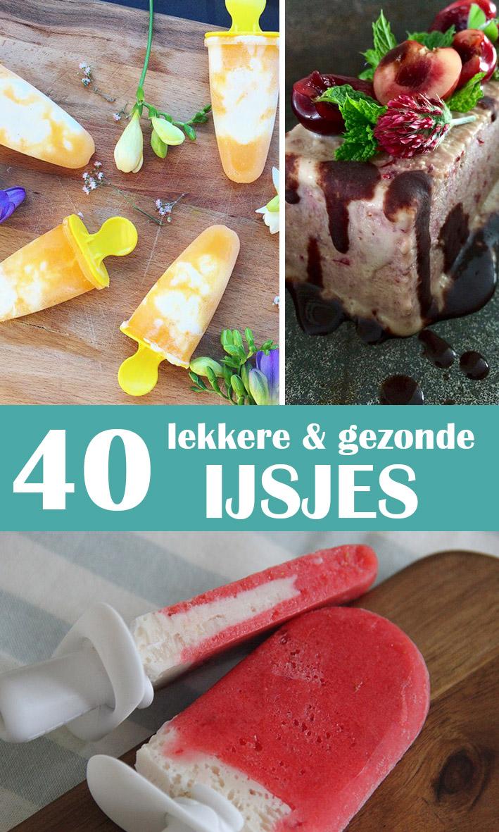 40 lekkere en gezonde ijsjes