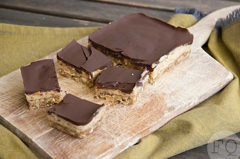 Karamelreep met chocolade