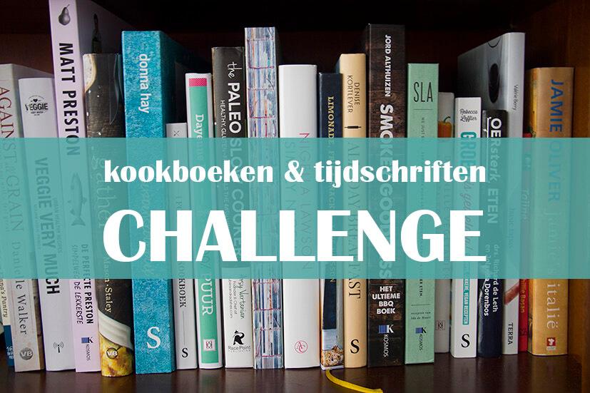 kookboeken en tijdschriften challenge