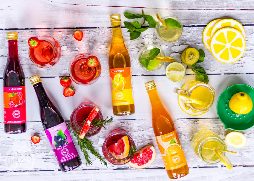 sodastream flavors