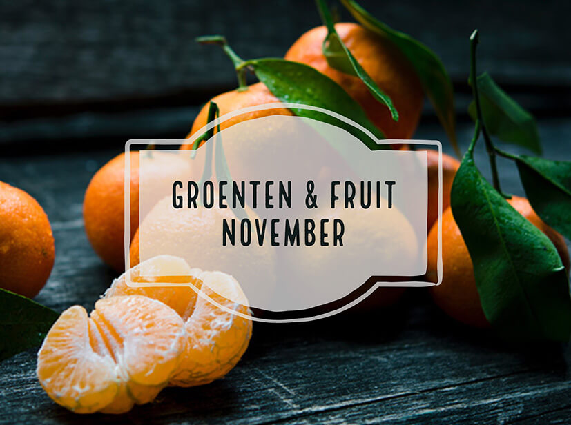 seizoensgroenten en fruit