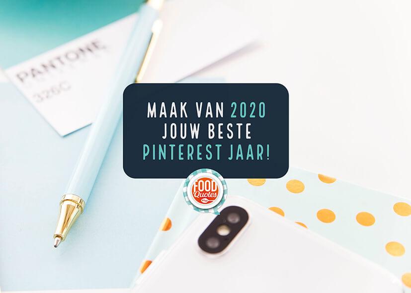 Pinterest Planner voor 2020